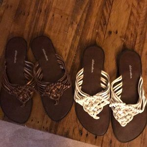 Sandals 2 pair bundle